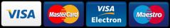 visa, visa electron, mastercard, maestro, diners club