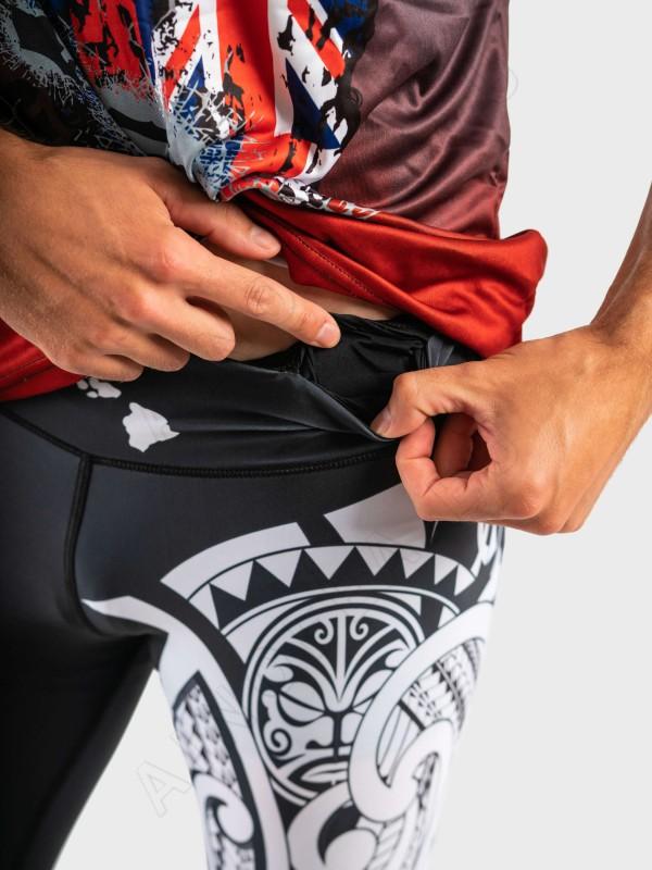 ainofea hawaiian flag men's tights
