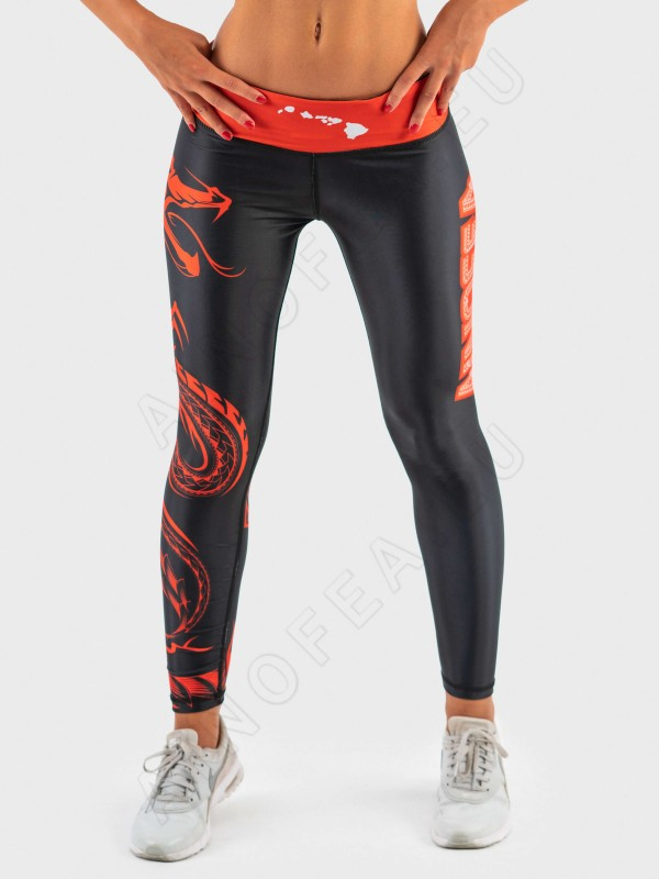 ainofea red dragon women's tights