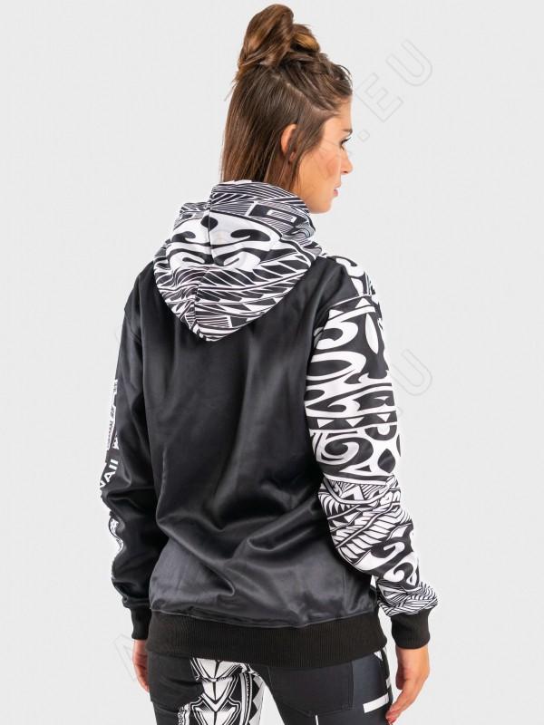 ainofea black & white women's hoodie