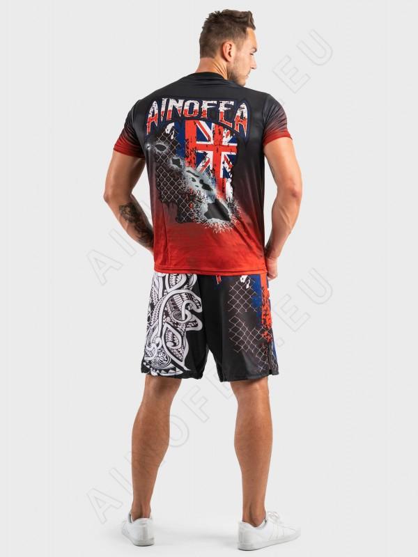 ainofea hawaiian flag men's t-shirt